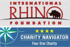 Inernational Rhino Foundation logo