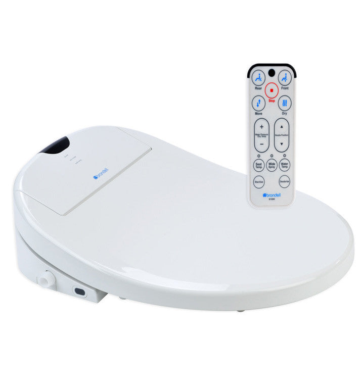 Brondell Swash 1000 Bidet side and remote