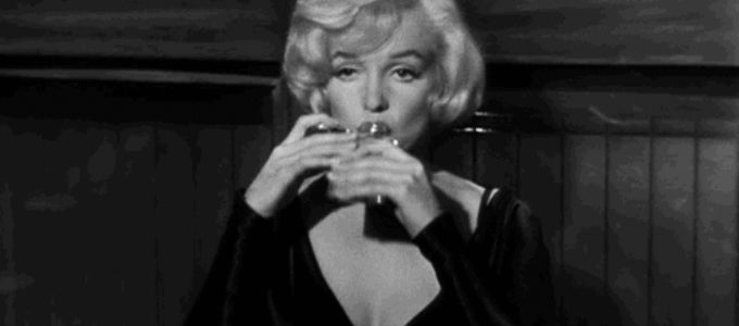 Marilyn Monroe in the 1959 Movie 'Some like it Hot'