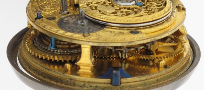 An 18th century pocket watch by the well-known London horologist Thomas Mudge.