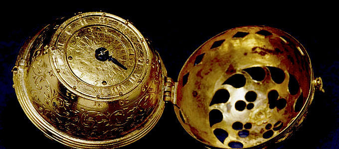 Walters Art Museum, Baltimore, USA. This watch was commissioned by the great German reformer and humanist Philip Melanchthon (1497-1560).
