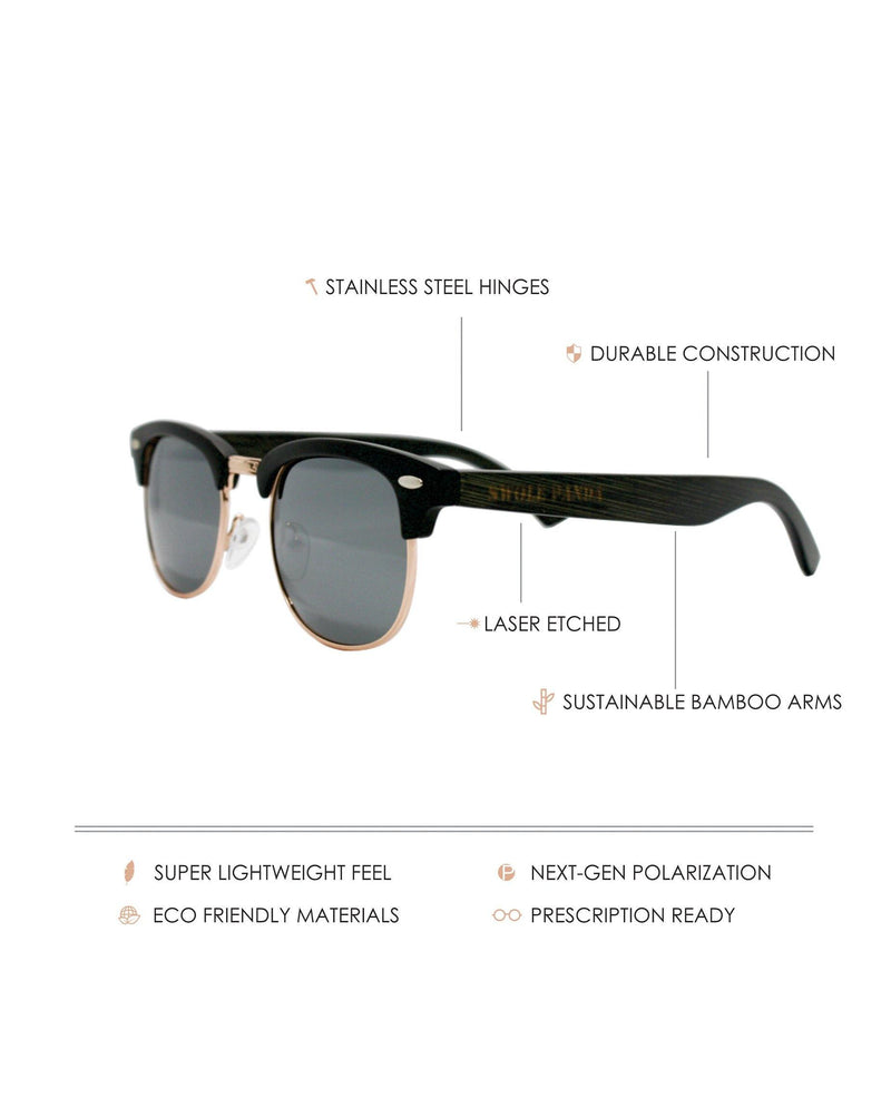 The Maverick - Matte Black / Smoke Lenses by Swole Panda