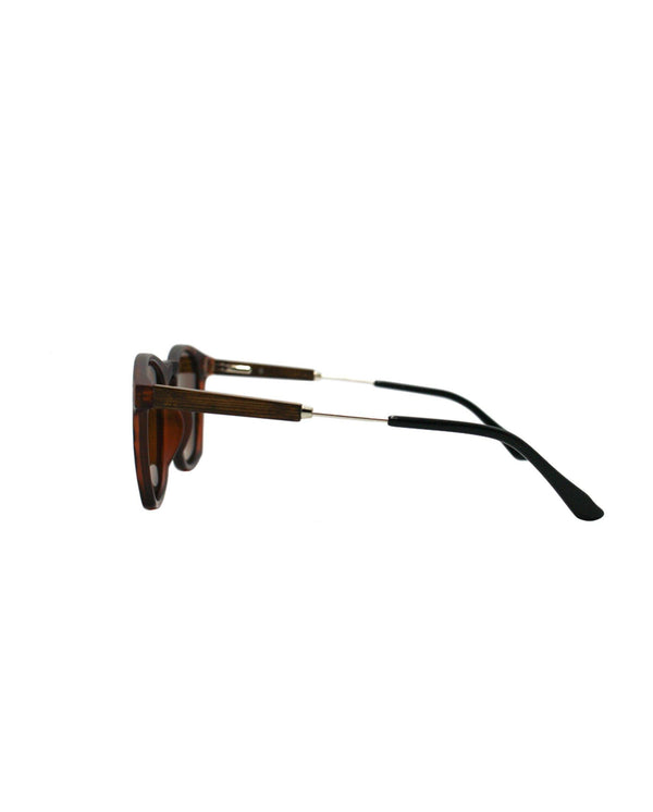 The Maverick - Tortoise Shell / Sepia Lenses