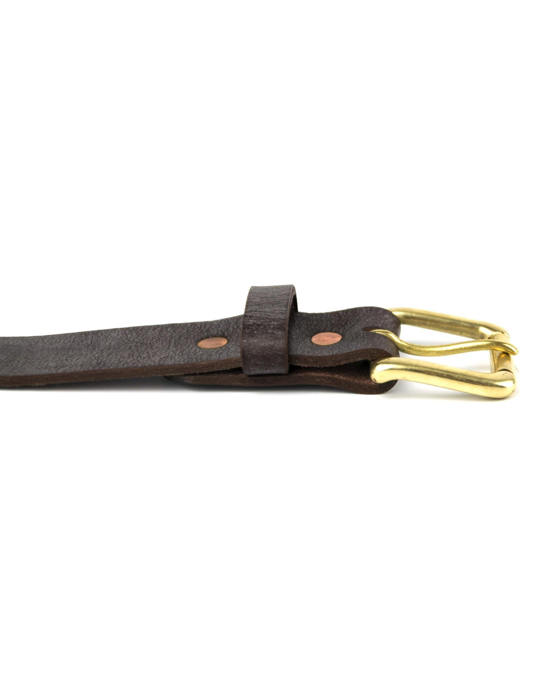 Waterloo Belt - Brown - Debonair