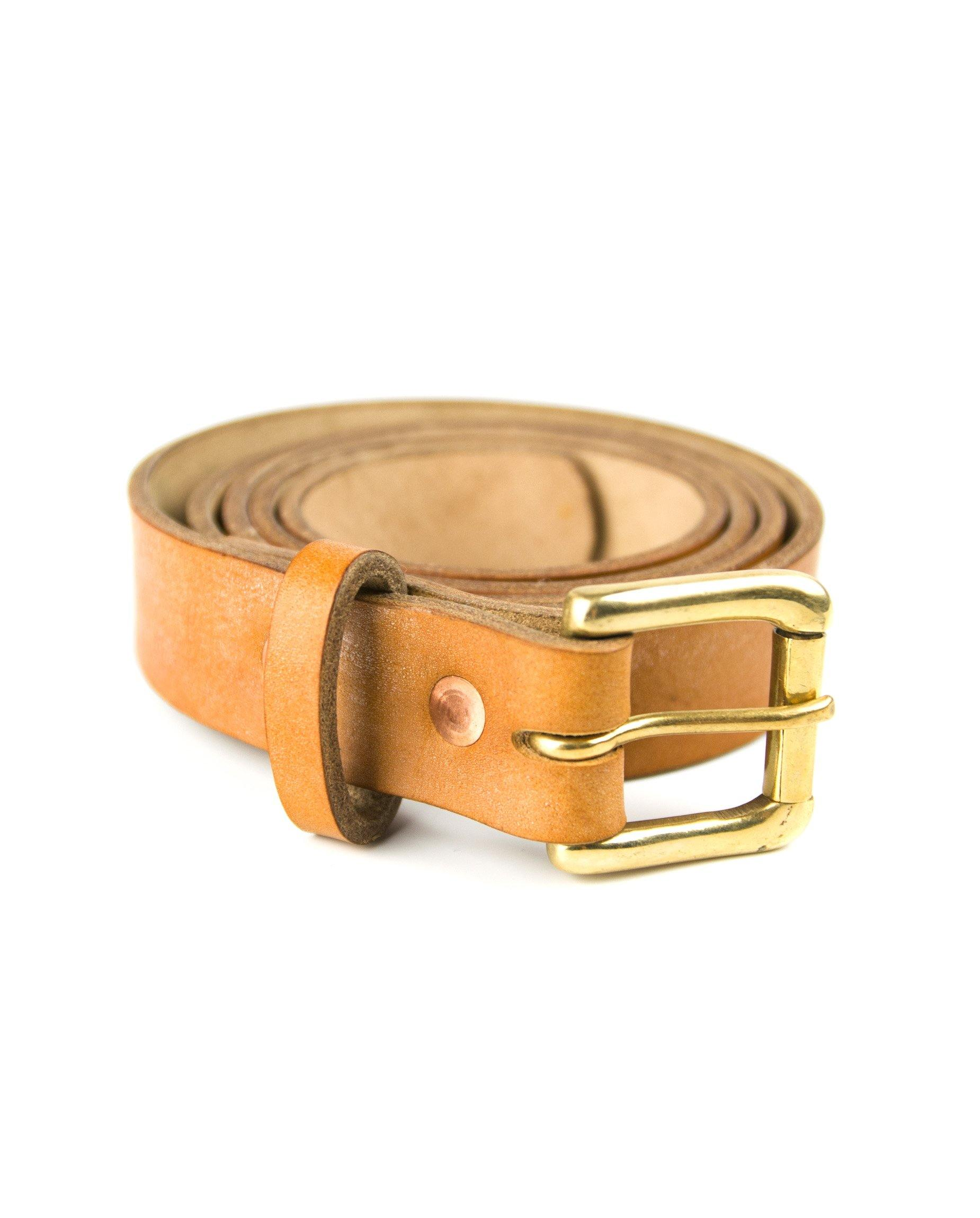 Waterloo Belt - Tan - Debonair