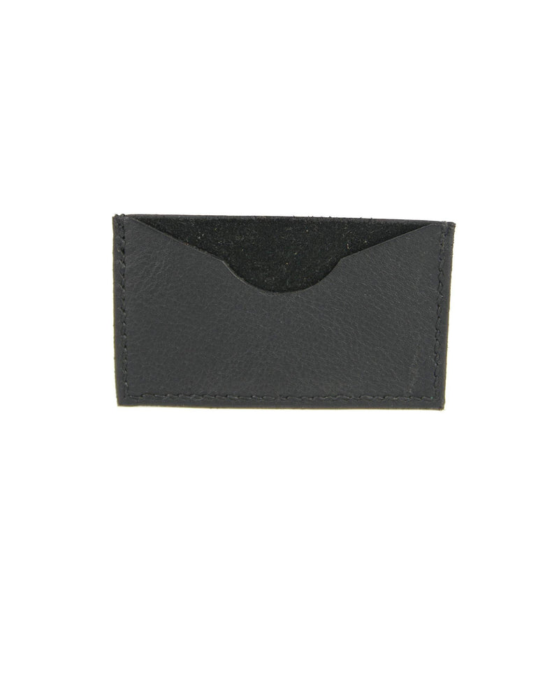 Single Card Wallet - Black - Debonair