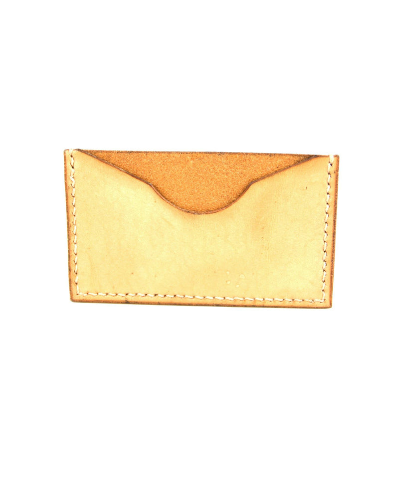 Single Card Wallet - Tan - Debonair