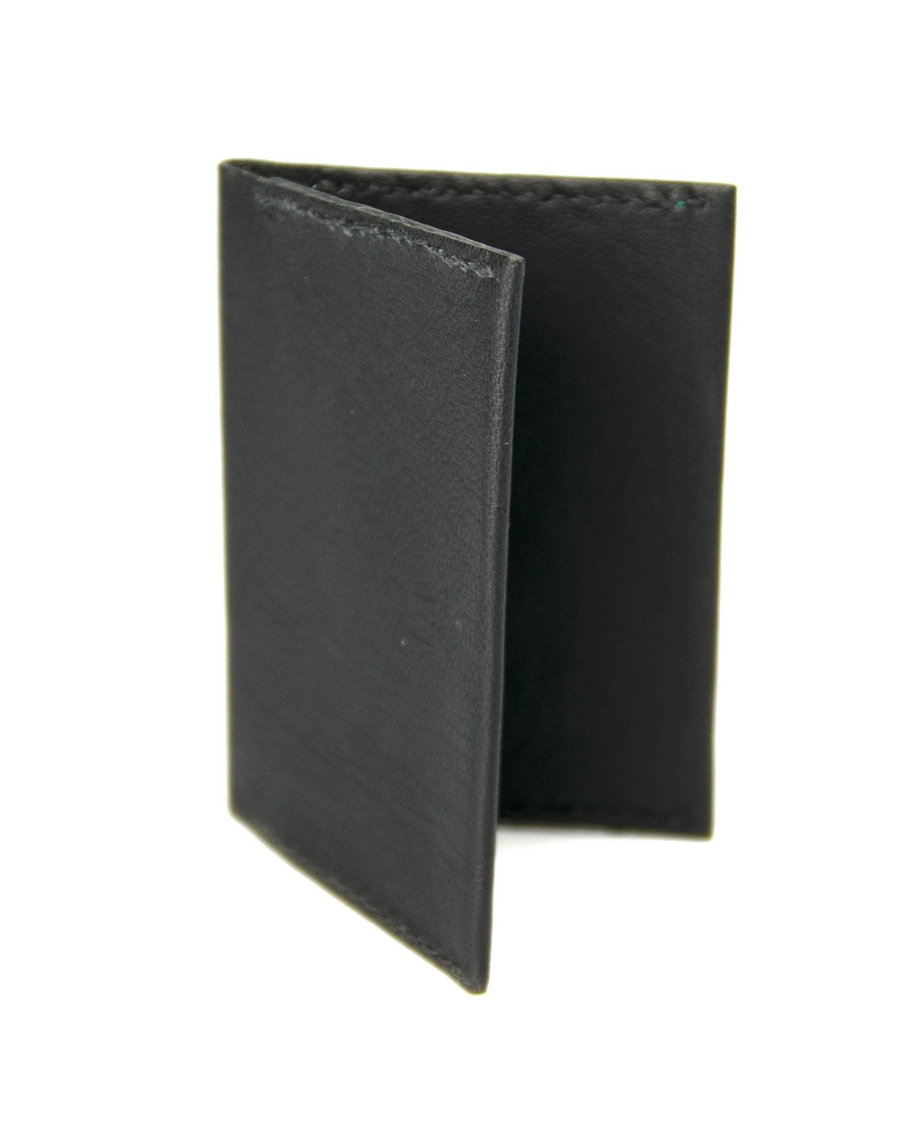 Double Card Holder - Black - Debonair
