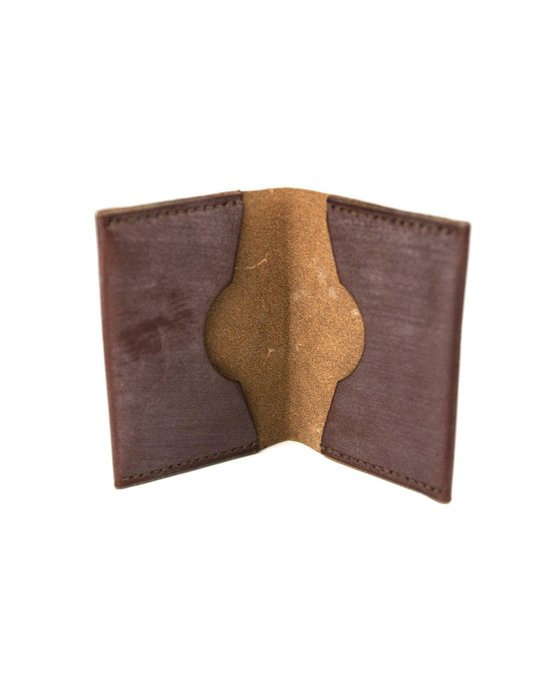 Double Card Holder - Brown
