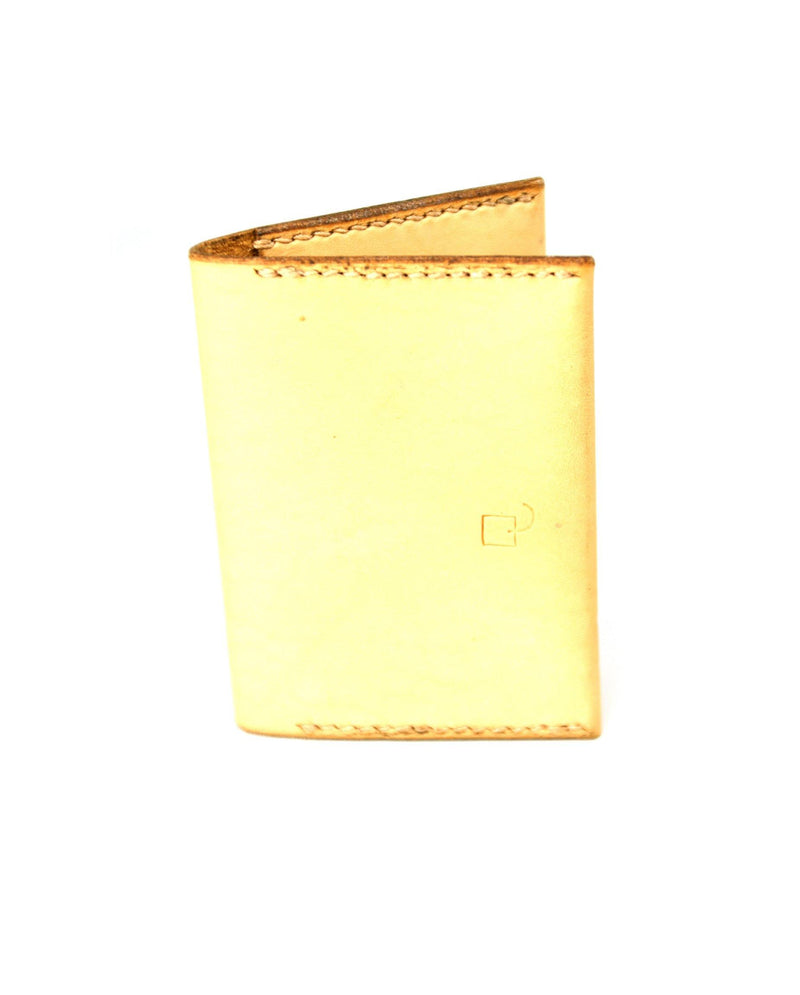 Double Card Holder - Tan