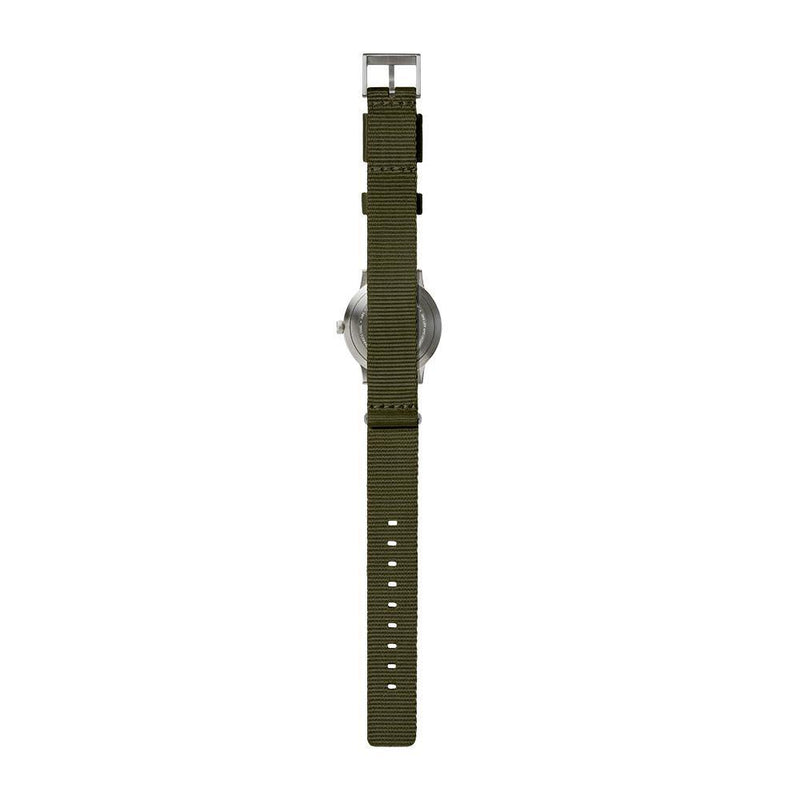 T Series - Steel Case Green NATO Strap by LEFF amsterdam