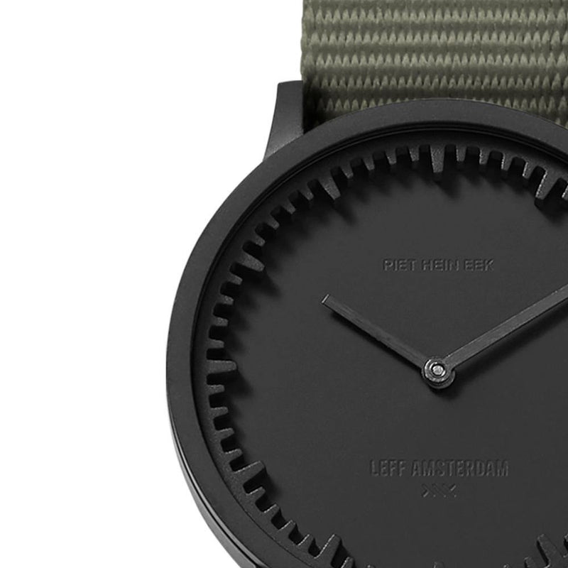T Series - Matte Black Case Grey NATO Strap
