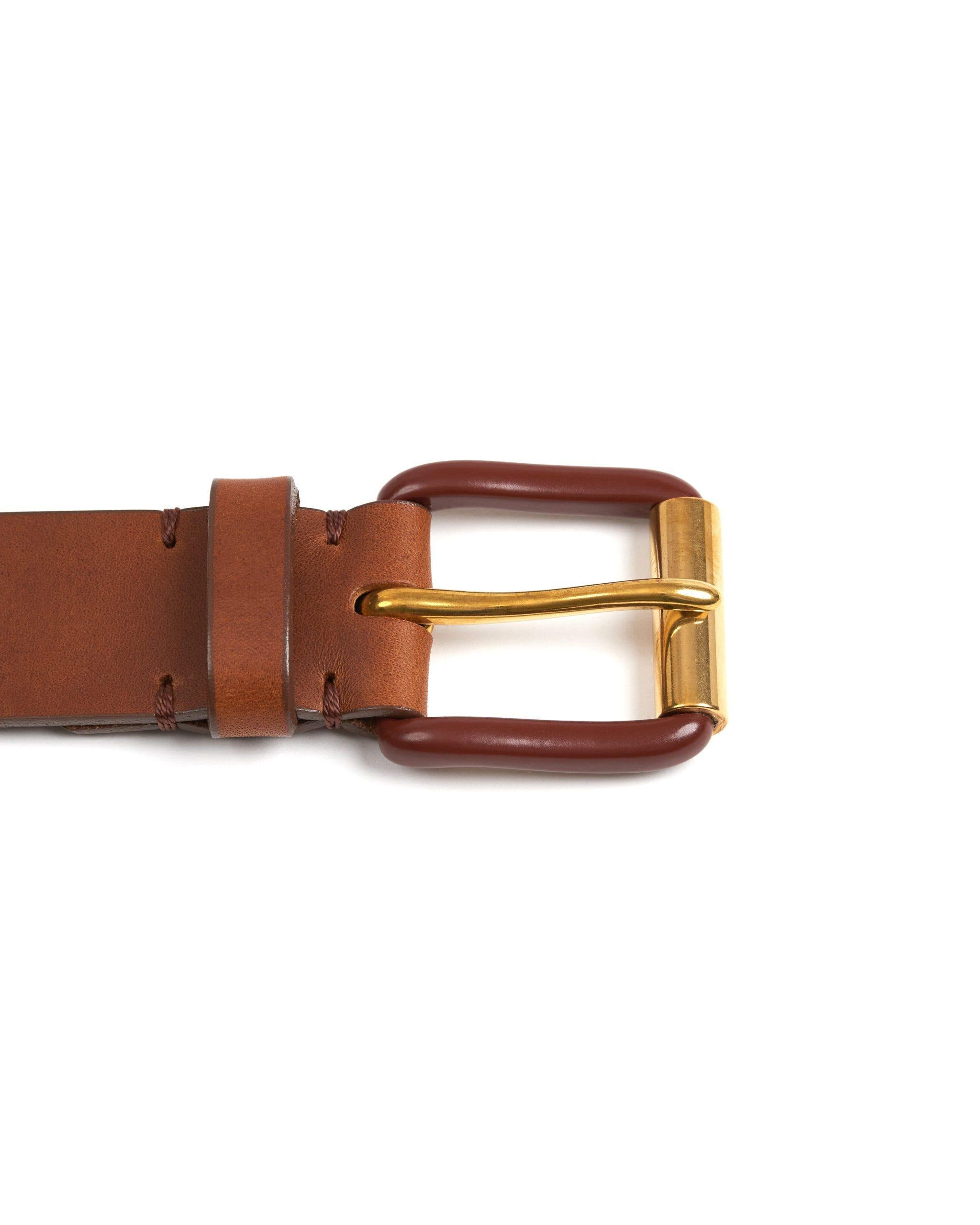 Modernist Exposed - Saddle Brown / Brass - Debonair