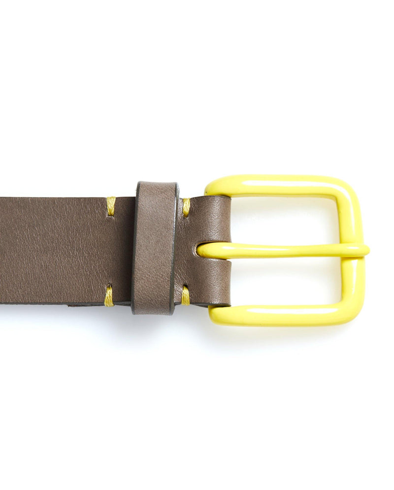 Modernist Belt - Form Grey / Citron - Debonair