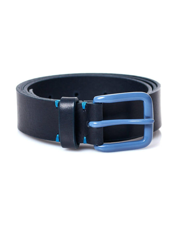 Modernist Belt - Navy / Slate Blue - Debonair