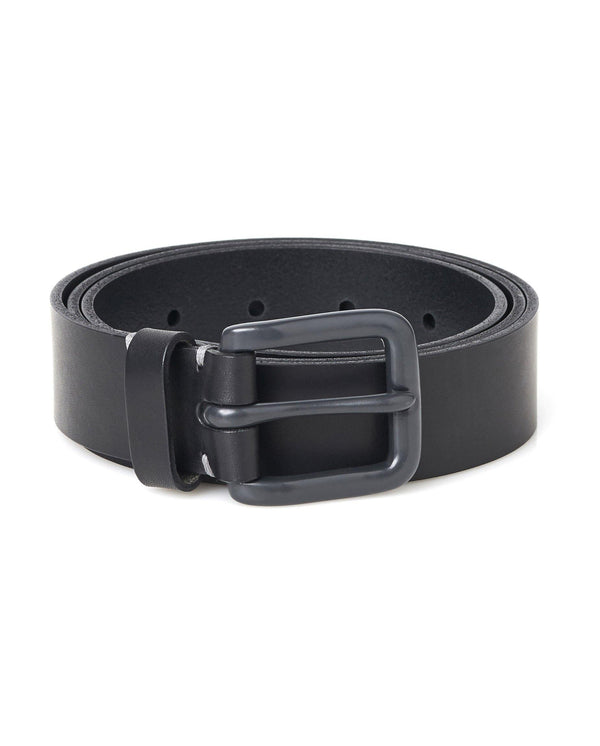 Modernist Belt - Pitch Black / Grey - Debonair