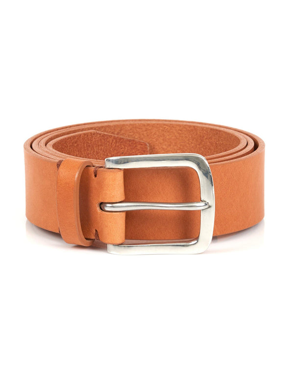 Original Belt - Tan / Polished Pewter - Debonair
