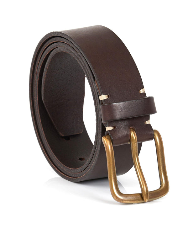 Original Belt - Walnut Brown / Brass - Debonair