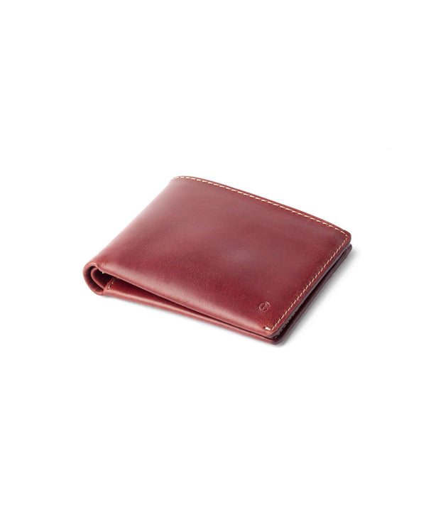 Leather Billfold Wallet – Berry