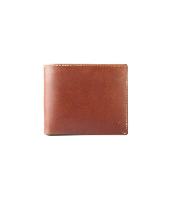 Leather Billfold Wallet – Roasted