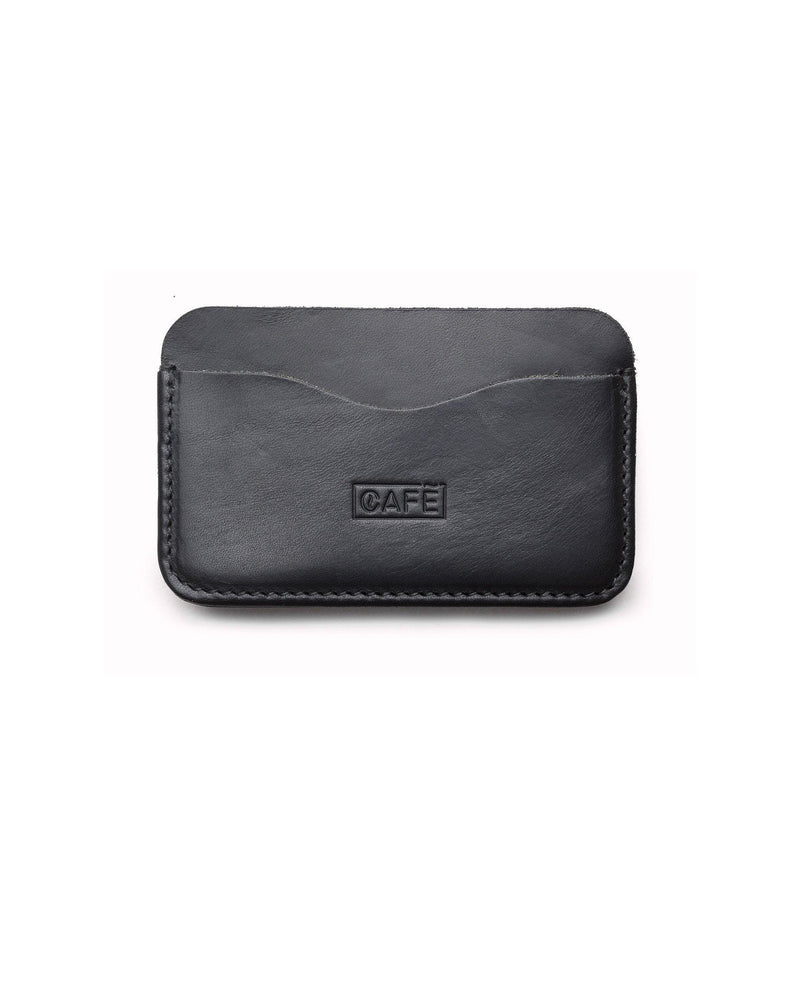 Leather Card Holder Panama – Black - Debonair