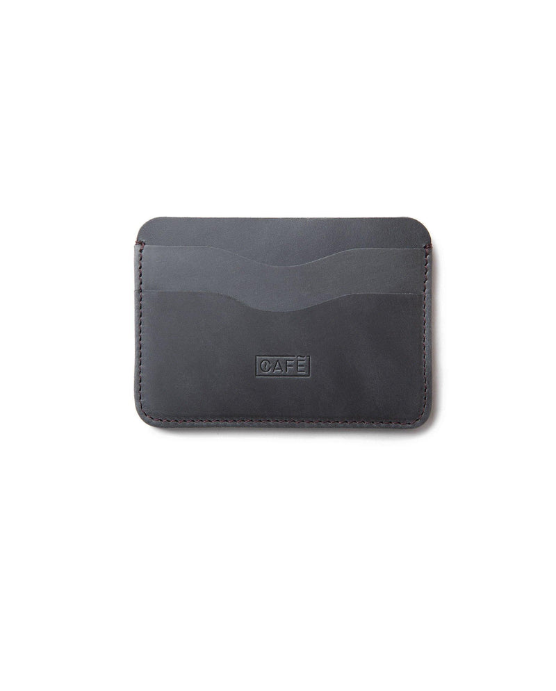 Leather Card Holder Panama+ – Antracita