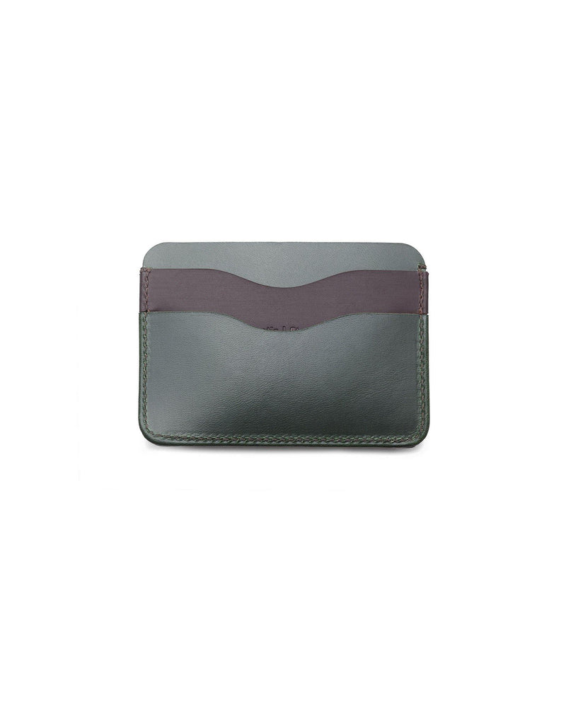 Leather Card Holder Panama+ - Forest