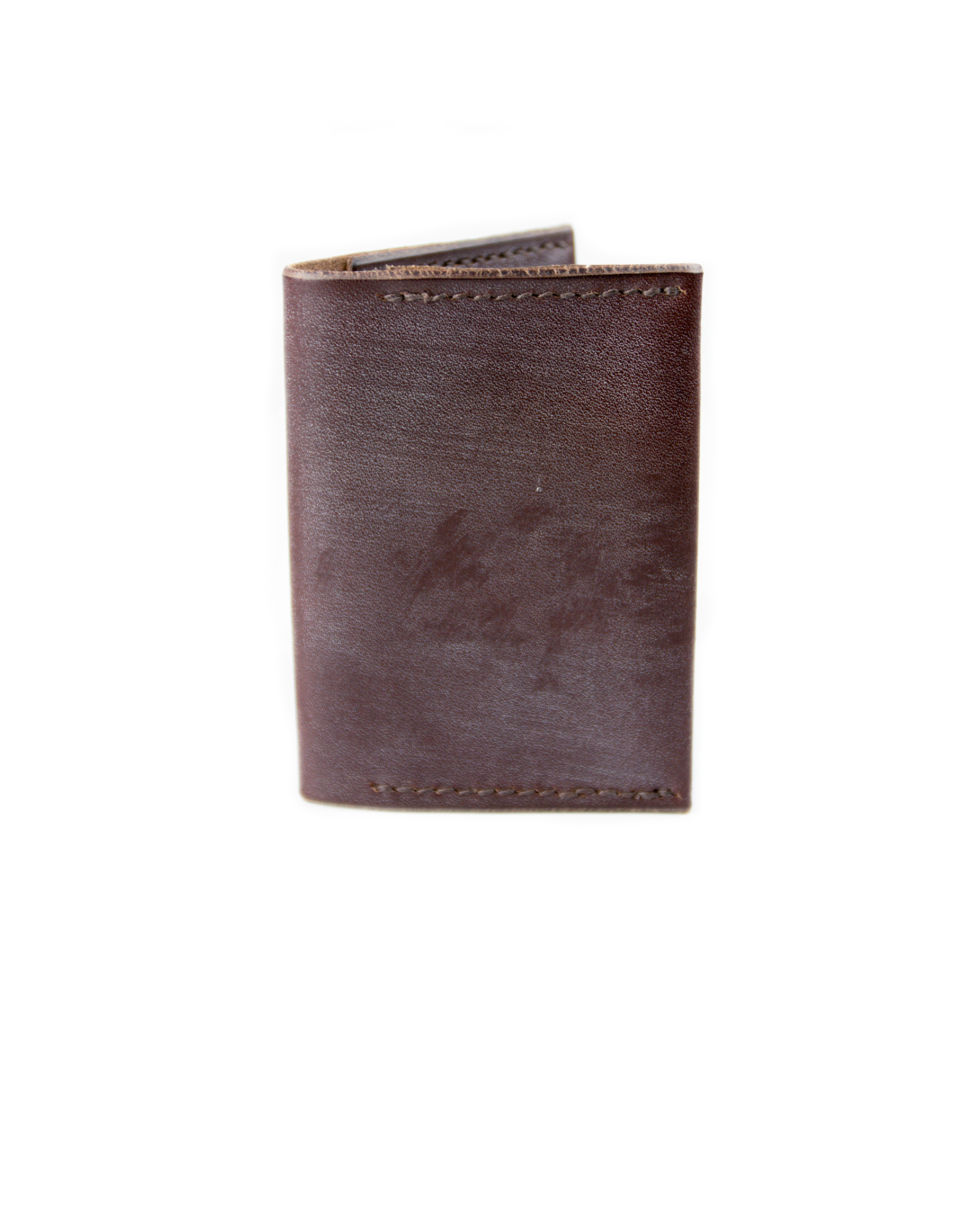 Double Card Holder - Brown - Debonair