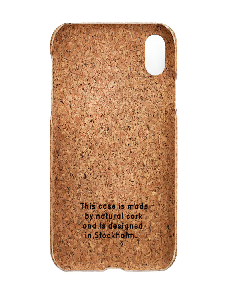 iPhone XS Max Cork Cover - Debonair
