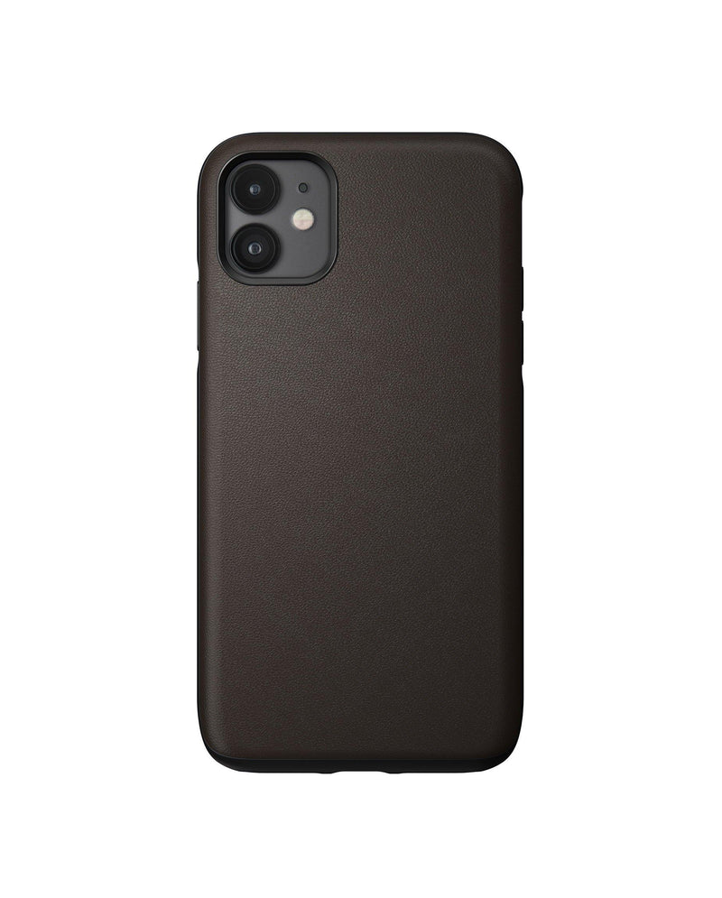 Rugged Case -  iPhone 11 - Rustic Brown Leather