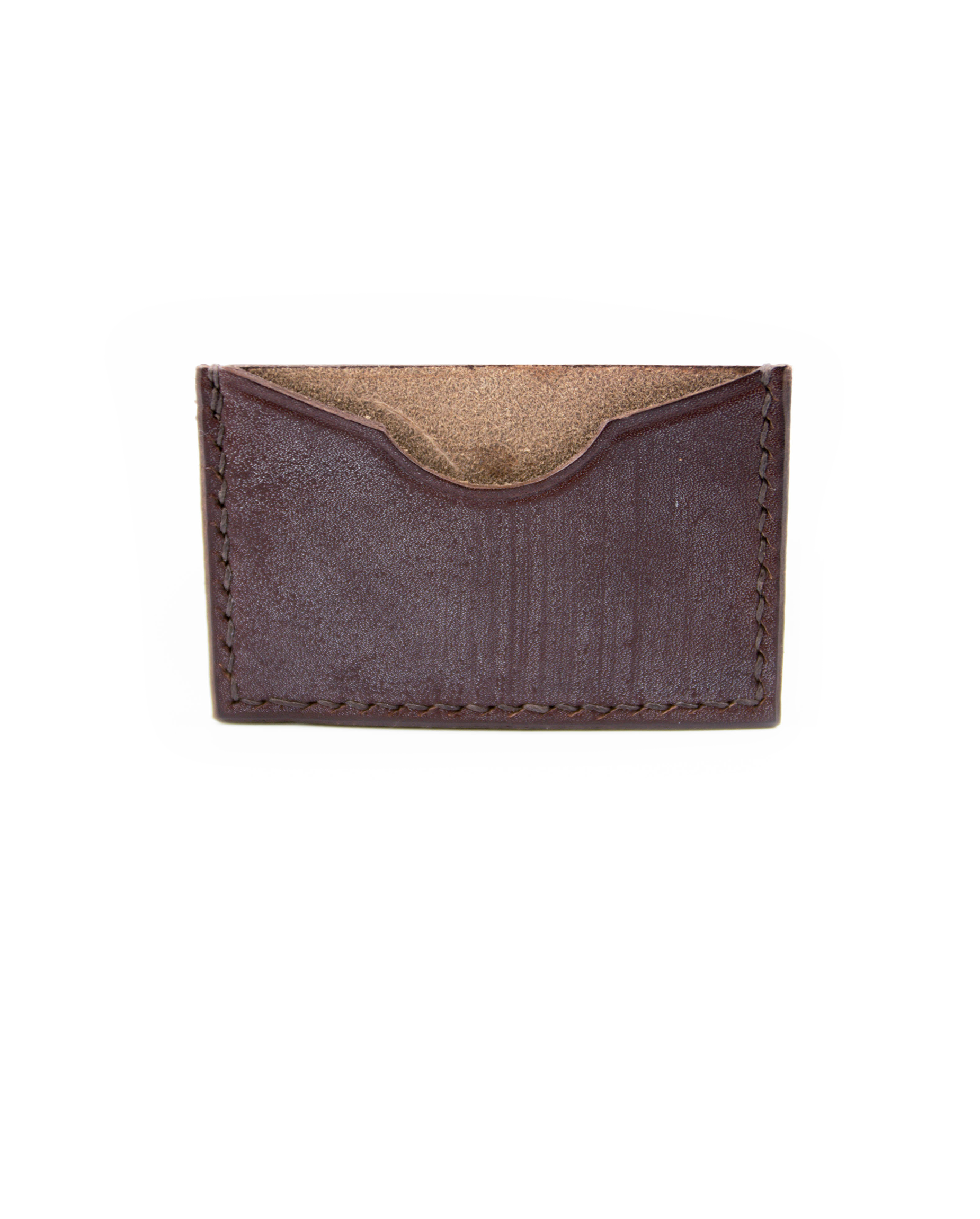 Single Card Wallet - Brown - Debonair