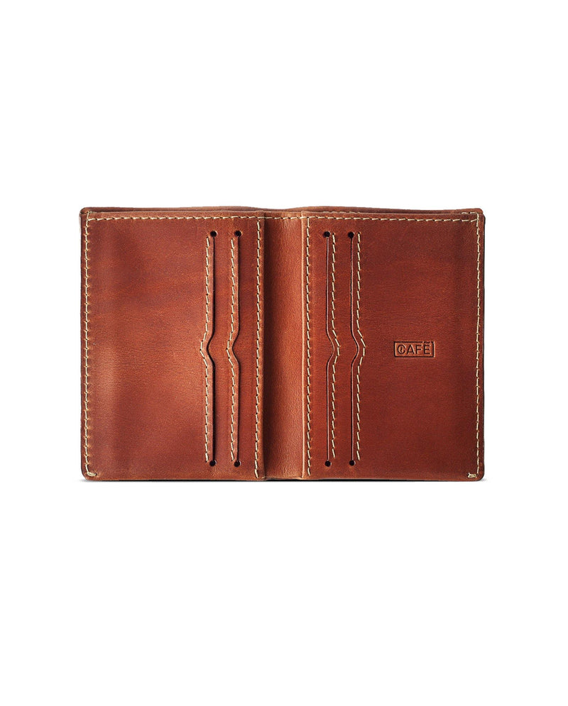 Slim Leather Wallet Costa Rica – Roasted