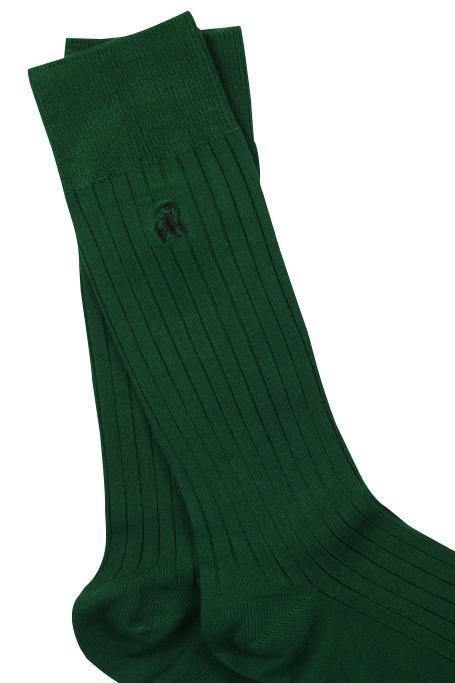 Racing Green Bamboo Socks - Debonair