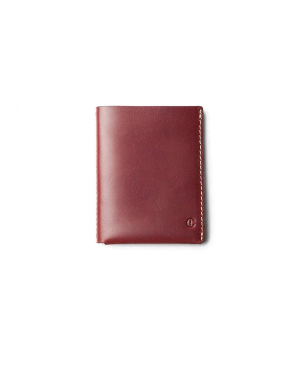 Ultra Slim Leather Wallet Jamaica – Berry