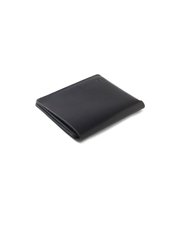 Ultra Slim Leather Wallet Jamaica – Black