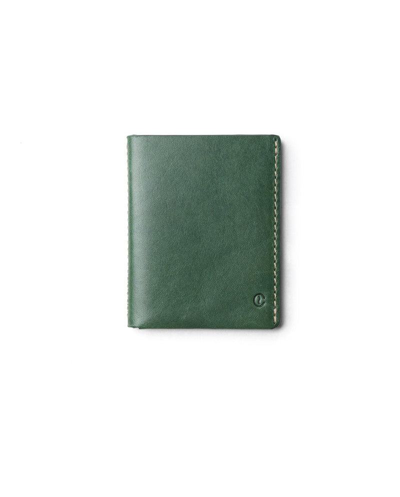Ultra Slim Leather Wallet Jamaica – Greenery - Debonair