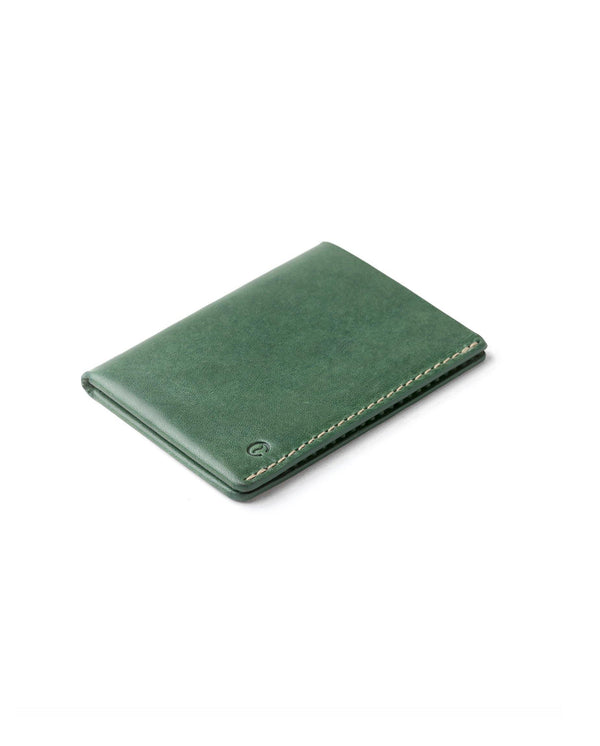 Ultra Slim Leather Wallet Jamaica – Greenery