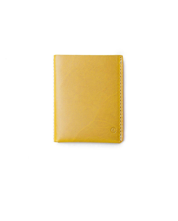 Ultra Slim Leather Wallet Jamaica – Spicy Mustard