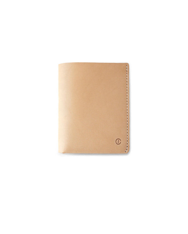 Ultra Slim Leather Wallet Jamaica – Natural