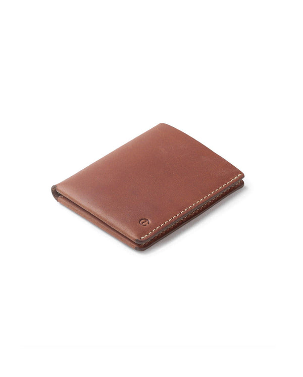 Ultra Slim Leather Wallet Jamaica – Roasted
