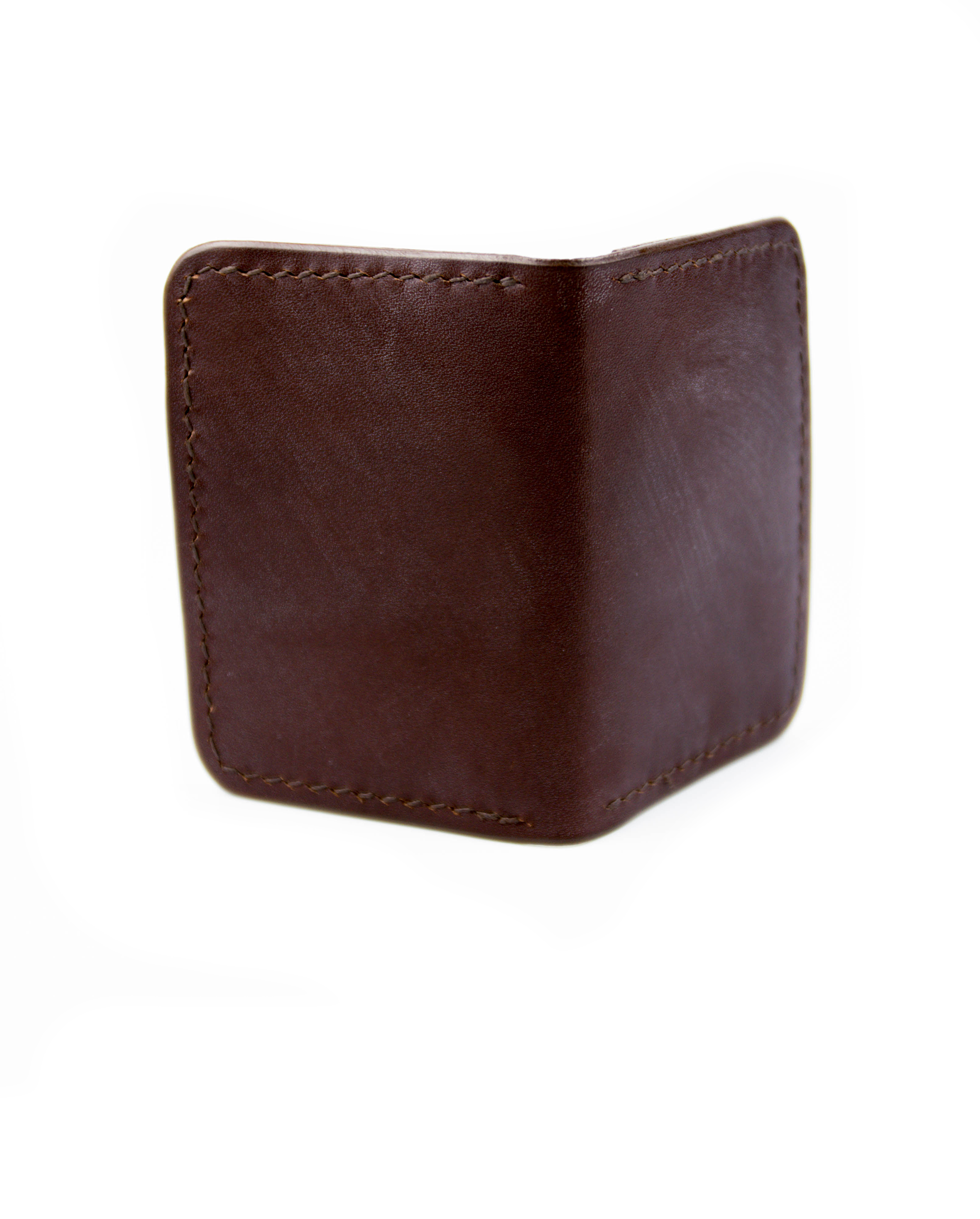Vertical Wallet - Brown - Debonair
