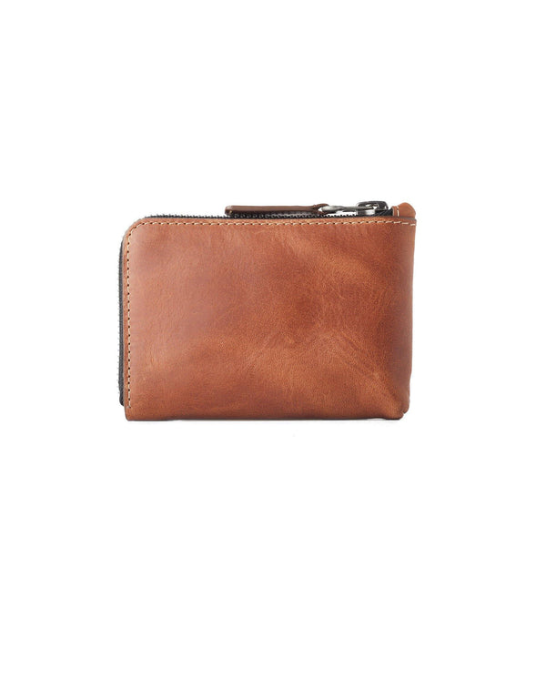 Leather Zip Wallet – Roasted