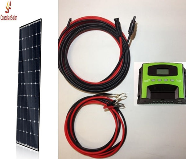 280W Solar panel kit - MONO Kit 24VDC Canadian Solar (CSA certified)