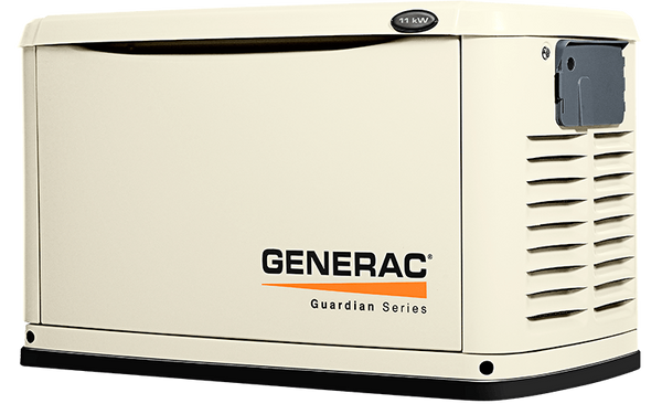 Natural or LP gas generator 11kW Guardian Series