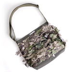 3D Leaf Shoulder Bag - Camo
