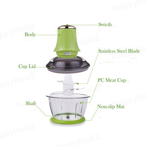 Multi-Functional Electric Meat Grinder Mincer
