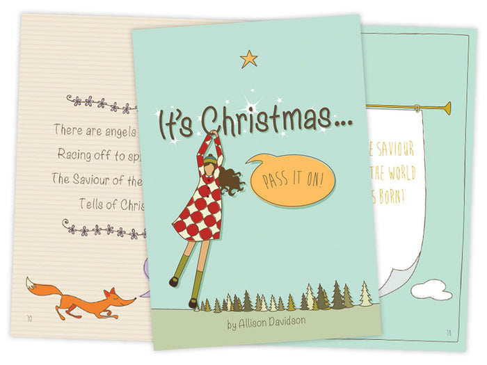 It's Christmas - Pass it On book