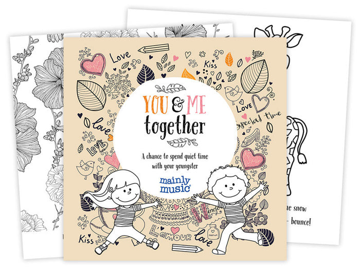 You & Me Together - Colouring pad