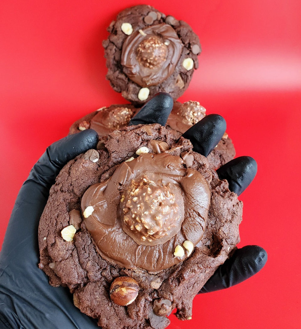 Fudgy Ferrero Nutella