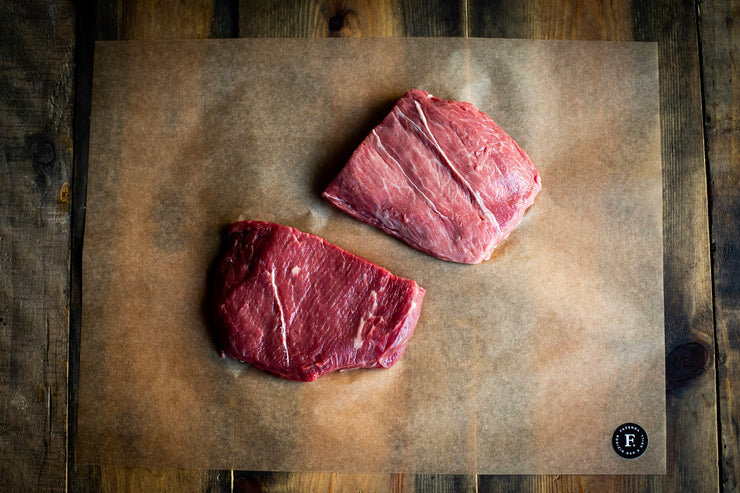 Flat Iron Steaks - Aberdeen Angus (dry-aged for 28 days) 2 x 227g